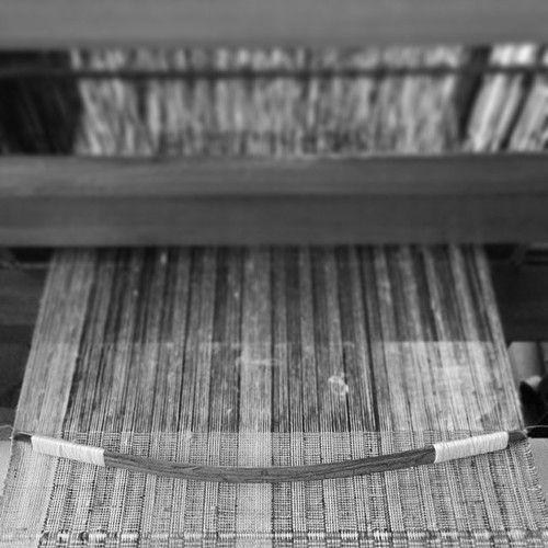 """Weaving """"Obi"""" Japanese traditional belt/sash for Kimono Harue Nishikawa/Textile COCOON"""