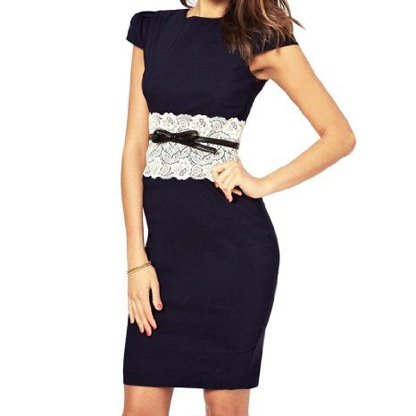 lace waist belt  fitted lace dress bodycon dress with