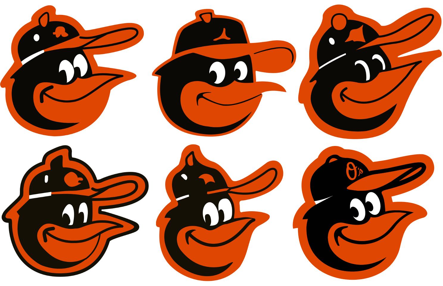 Baltimore Orioles Cartoon Bird Cap Logos Cartoon Birds Baltimore Orioles Orioles