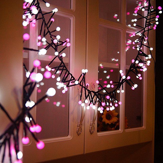 Pink String Lights Valentines Day Decorations Living Room Fairy String Lights Pretty