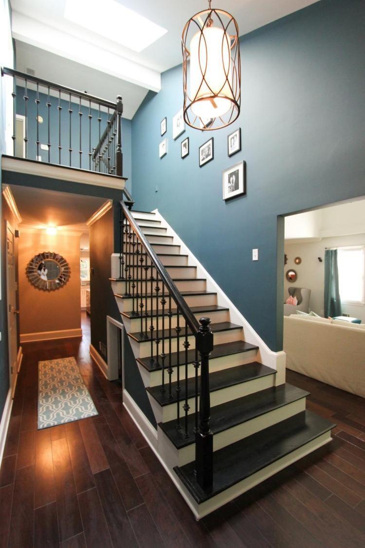 Rénovation escalier et idées de décoration - 78 photos ...