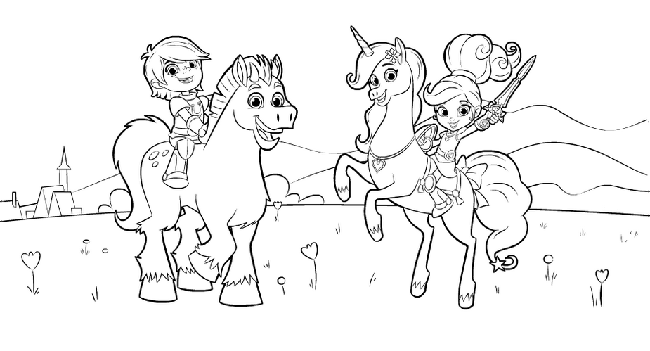 Nella The Princess Knight Coloring Sheet For Kids Princess Coloring Pages Coloring Pages Princess Coloring
