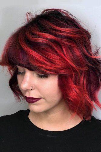 Kurze rote haare 2019