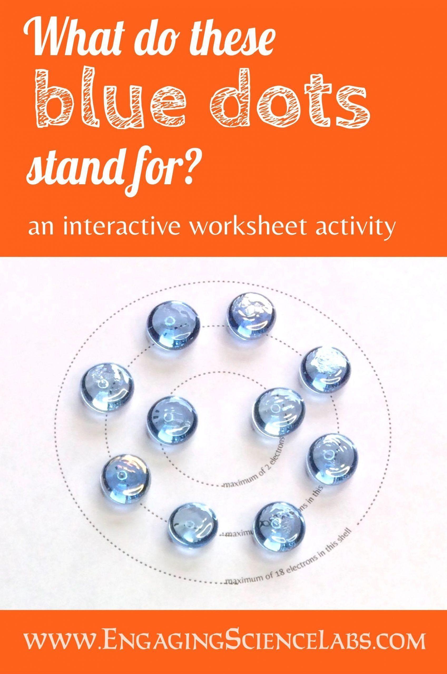 Bohr Model Worksheet Middle School Atomic Structure