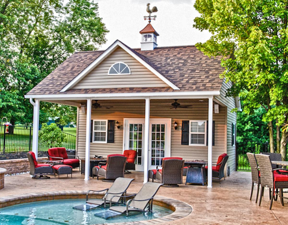 Pool House Kit Google Search Prefab Pool House