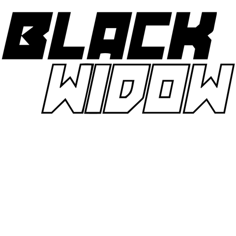Marvel Black Widow Marvel Marvel Vinyl Decals