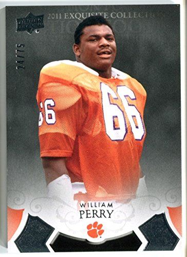 online retailer 968b3 d5552 William Perry Clemson Tigers Authentic Jerseys | Cool ...