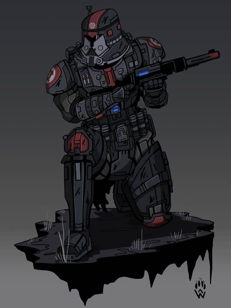 Sith Trooper Swtor By Wolfdog Artcorner