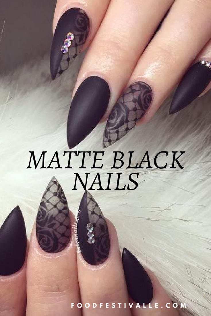 Matte Nail Designs Pinterest