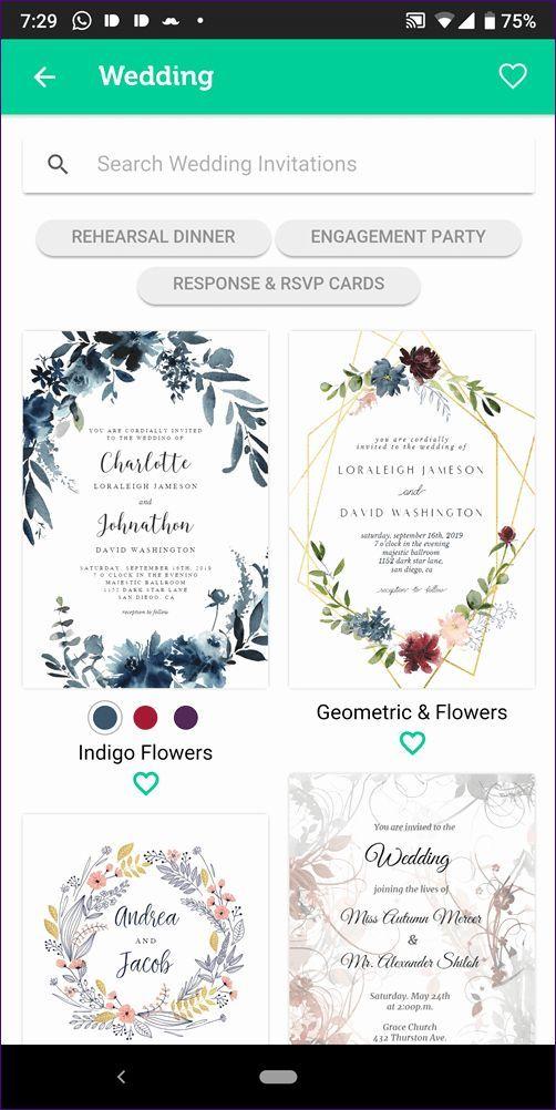 Free Invitation Maker App Luxury 5 Best Wedding Invitation