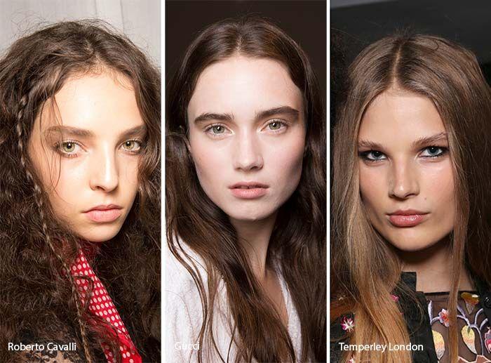 Spring Summer 2017 Hair Color Trends Deep Brown