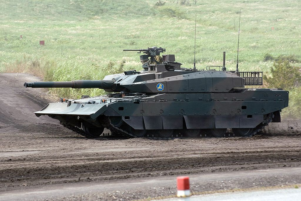 39d031c999f8 Japanese Type 10 (10式戦車) Main Battle Tank (MBT) is designed to replace Type  74 main battle tanks in the Japan Ground Self Defense Force.