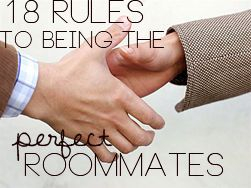 Draft A Roommate Agreement  Roommate Agreement Roommate And College