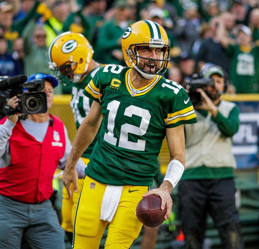 Incase You Didn T Hear Aaron Rodgers Played Like The Mvp He Is Toda Packers Games Lambeau Field Packers Gear