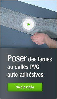 video-poser-lames-dalles-pvc-auto-adhésives   Dalle pvc, Lame pvc adhesive, Dalle adhesive
