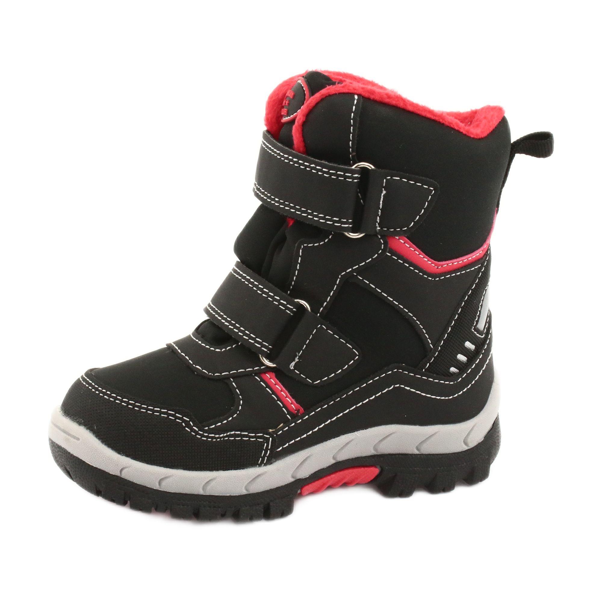 American Club Kozaki Z Membrana Rl34 Czarne Czerwone In 2021 Boots Childrens Boots Kid Shoes