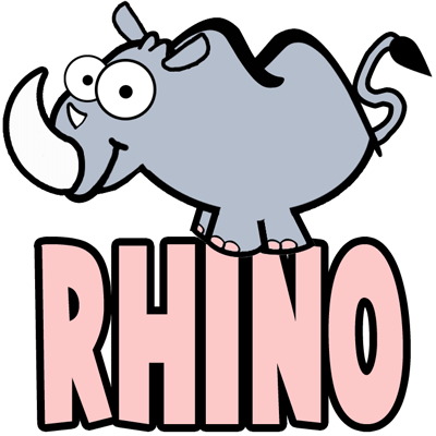 How To Draw Cartoon Rhinos In Easy Step By Step Drawing Tutorial How To Draw Step By Step Drawing Tutorials Drawing Tutorial Cartoon Drawings Step By Step Drawing