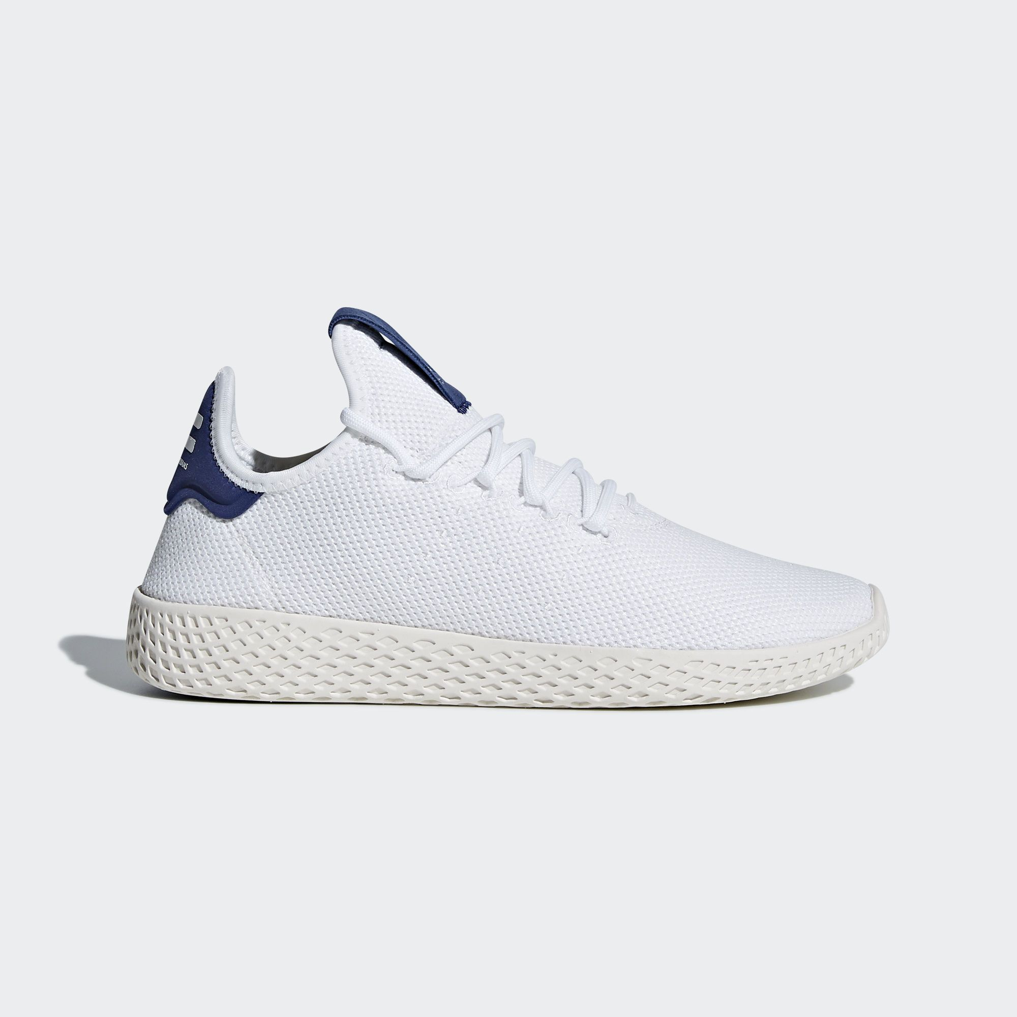 1258b2ca2 Shop the Pharrell Williams Tennis Hu Shoes - White at adidas.com us! See  all the styles and colors of Pharrell Williams Tennis Hu Shoes - White at  the ...