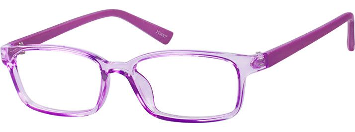 f99c78de683e Purple Girls  Rectangle Eyeglasses  128917