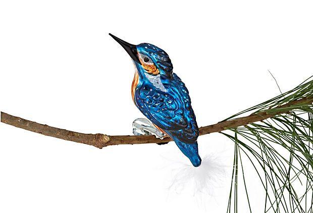 "5"" Icebird Ornament, Blue on OneKingsLane.com"