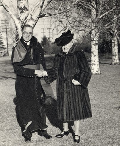 "In 1938, Marie Dowd of New York contacted Father Flanagan and offered to donate funds for a new dormitory. New dormitories had just been completed and Father Flanagan suggested, instead, the building of a Catholic chapel. Miss Dowd agreed and donated $250,000 for the building of the Immaculate Conception Chapel at Boys Town. The chapel followed the same gothic design of churches in Ireland. It was dedicated in 1941. Father Flanagan described the chapel as ""a prayer in stone."" 