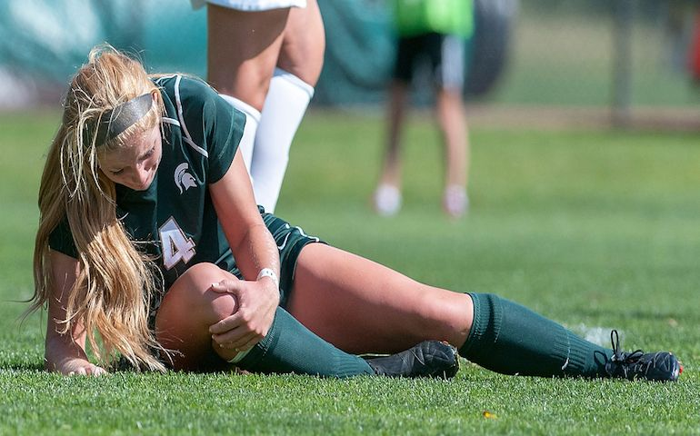 Return to play for elite college athletes after ACL