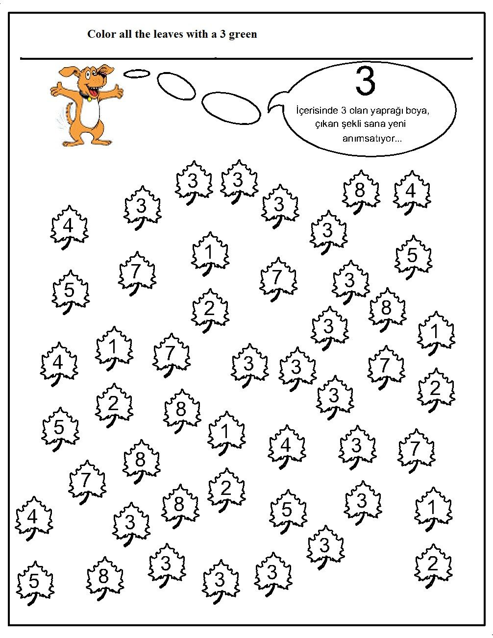 number hunt worksheet for kids 11 matematik pinterest