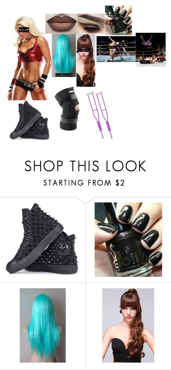 """Leah Hardy-Rematch News"" by princess-nikki123 ❤ liked on Polyvore featuring Converse"