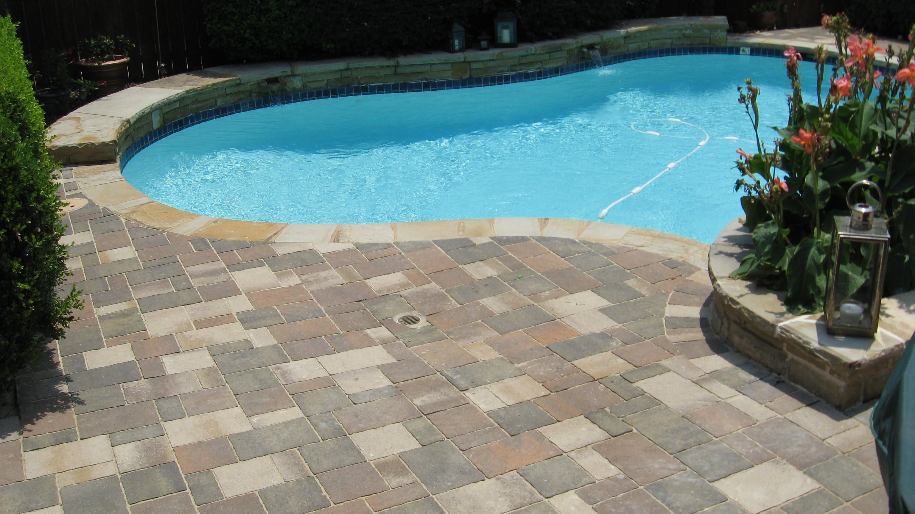 Cheap Pavers Pool Deck Pavers Will Compliment A New Pool Like No Other Surface Option