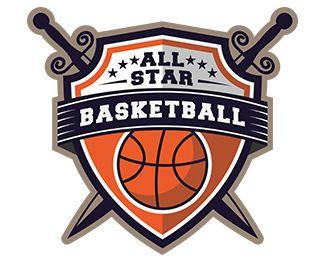 Basketball Logo Logo design - a sport logo good for many domeins ...