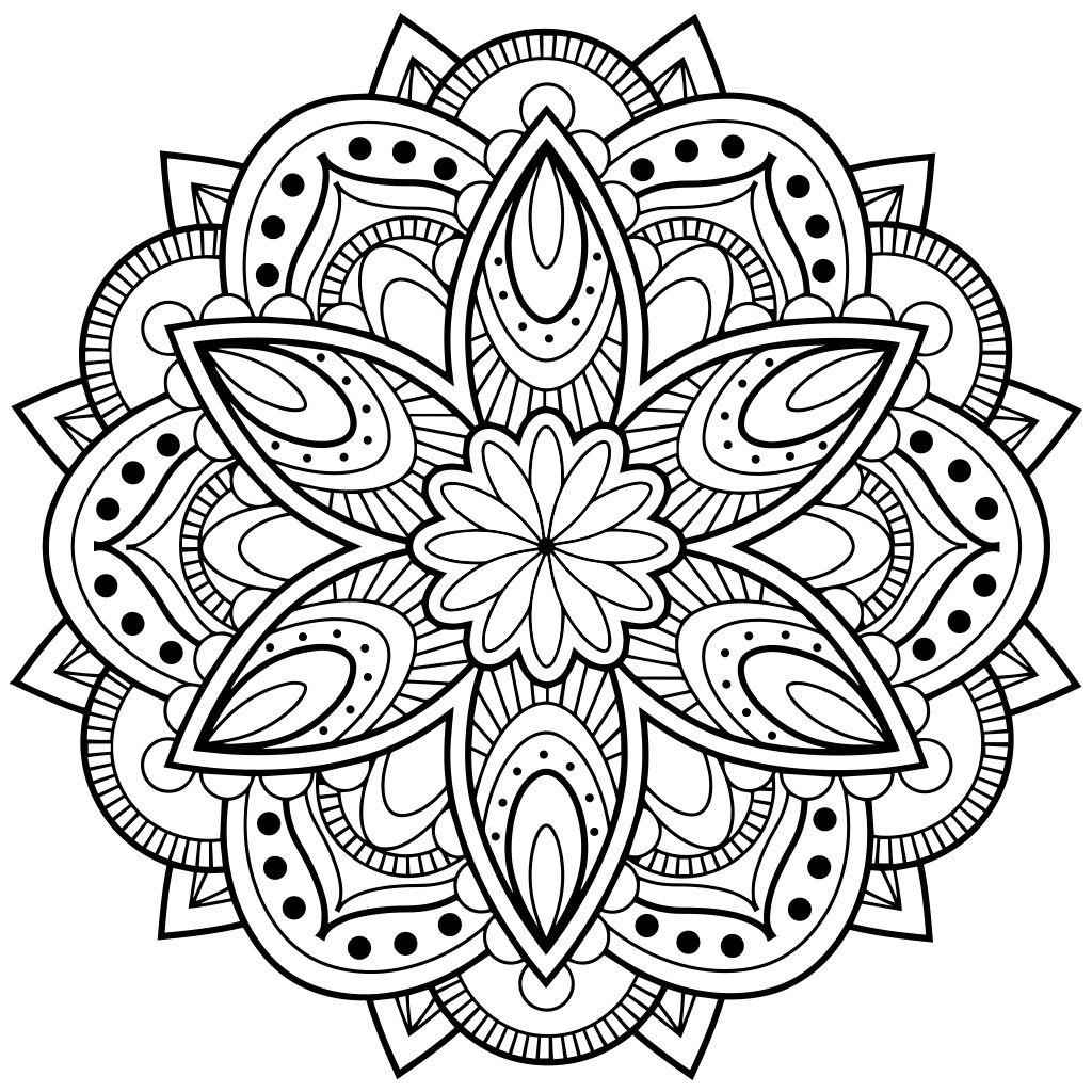 Mandala Coloring Pages Mandala Coloring Books Abstract Coloring Pages Mandala Printable