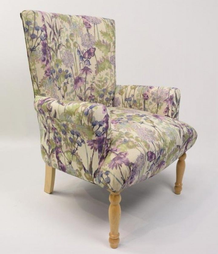 Hartwell purple chair the online fabric chair