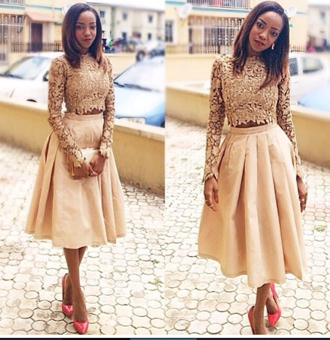 Lace dress nigeria  Pin by Betty on African clothing  Pinterest  Classy outfits
