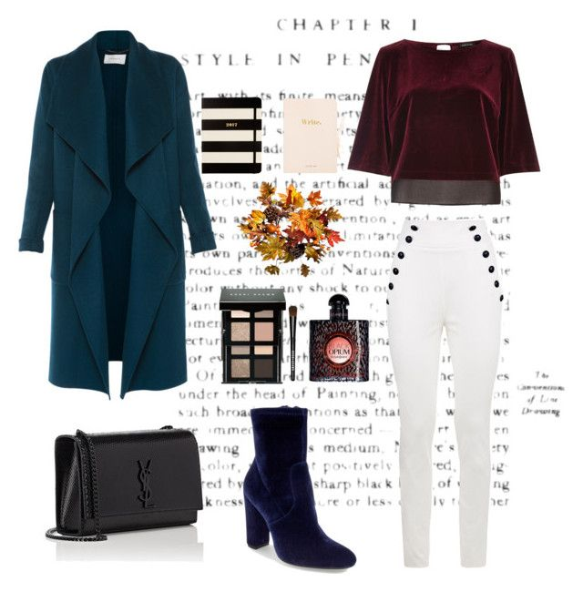 """""""The 4th day of October"""" by beehazz on Polyvore featuring L.K.Bennett, Steve Madden, River Island, Yves Saint Laurent, Bobbi Brown Cosmetics, Improvements and Kate Spade"""