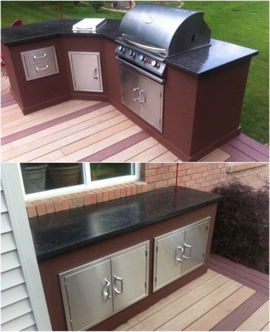 22 Incredible Budget Gardening Ideas: 15 Amazing DIY Outdoor Kitchen Plans You Can Build On A