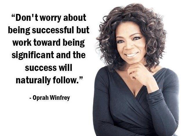 Oprah Winfrey Poster Large  24inx36in