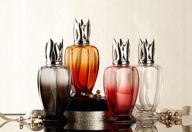 Lampe Berger Athena Fragrance Lamp Wood Tags Bottles Decoration Tutorial