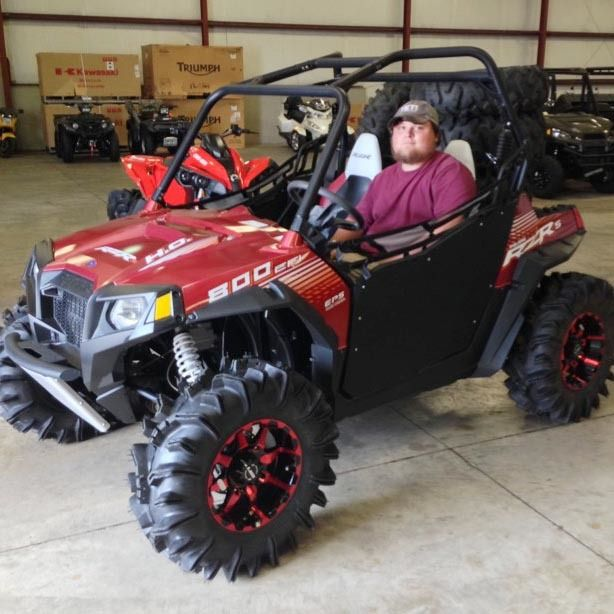 Thanks To Dalton Miller From Petal Ms For Getting A 2013 Polaris