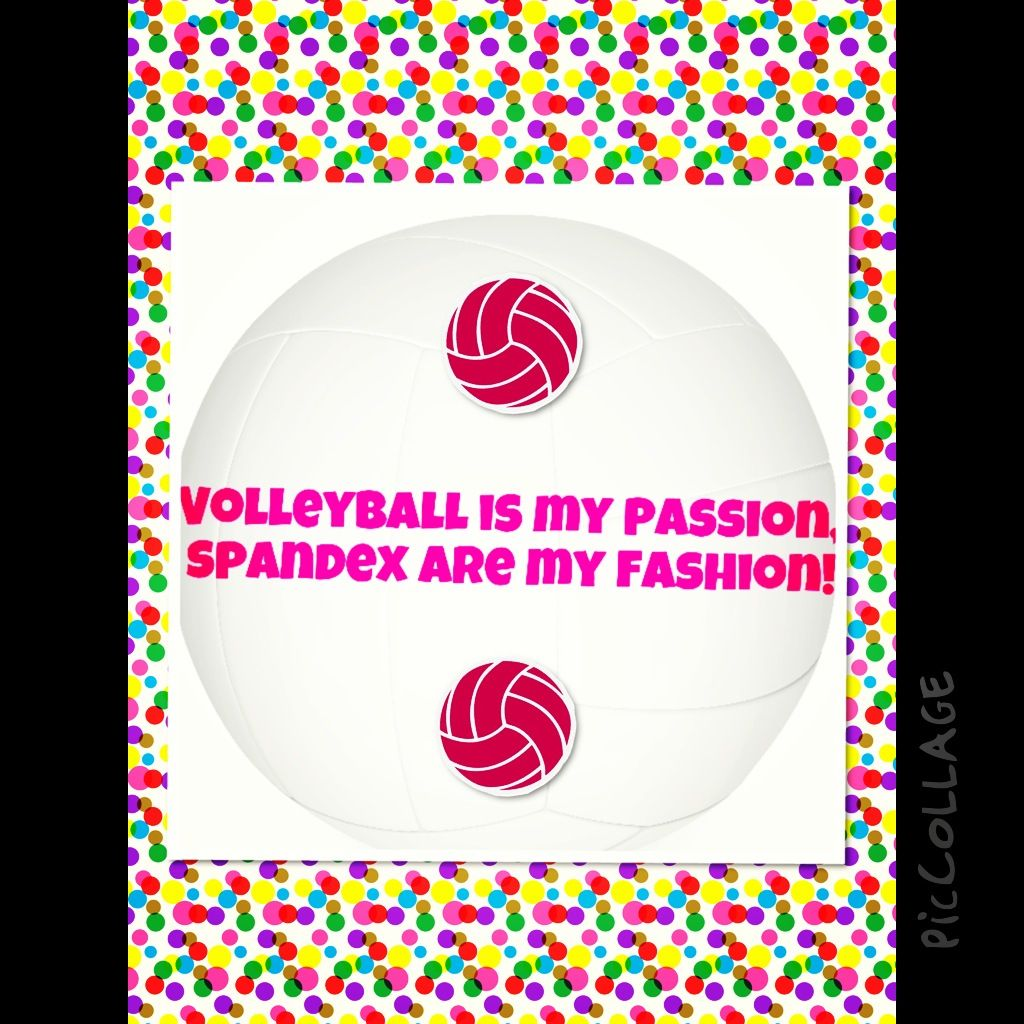 Volleyball quote!