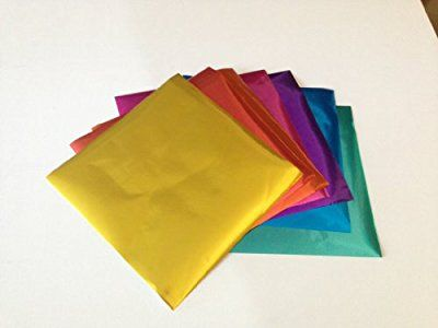 Yasutomo Assorted Solid Origami 4-1//2 Inch Square 5-7//8 Inch and 8 Inch Papers 55//Package