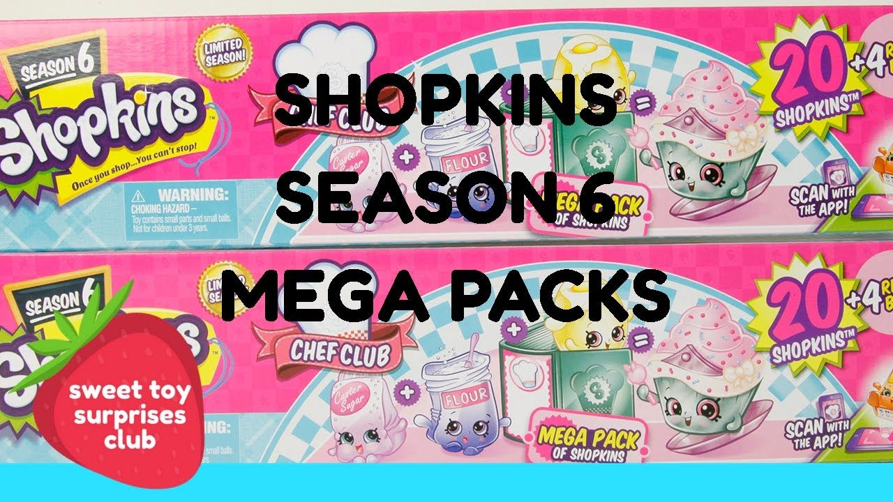 Shopkins Season 6 Mega Packs Share With Your Friends And Subscribe To My Youtube Page For More Fun Videos Shopkins Video Shopkins Season 6 Shopkins