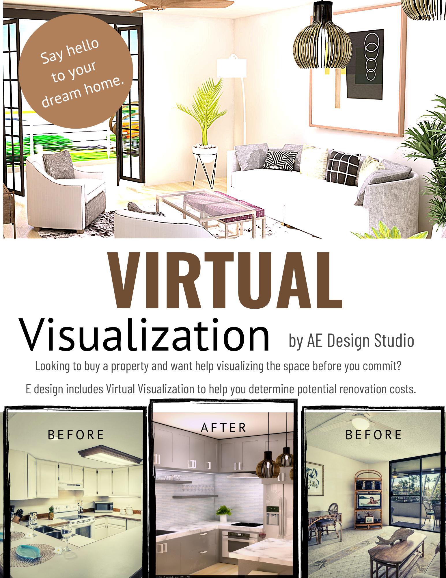 Virtual Visualization For Buying Homes Online Interior Design Services Edesign Online Interior Design