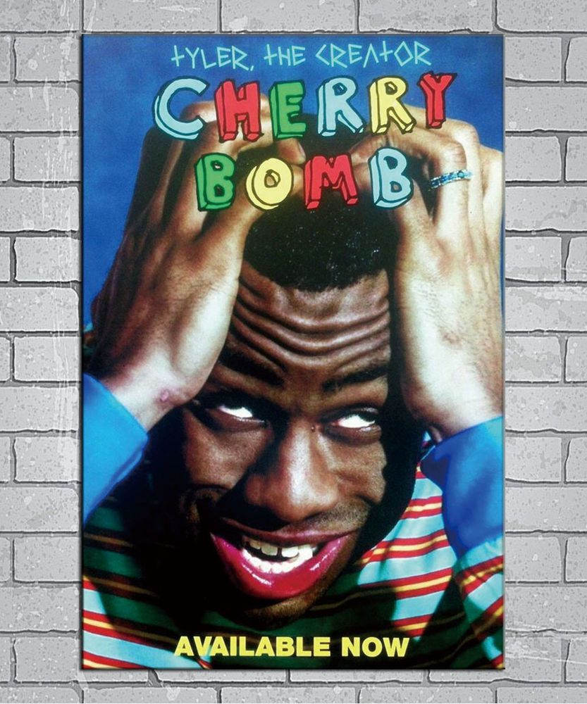 fa55b5eccd419 E371 Art Tyler the Creator Cherry Bomb Hip Hop Album 18 24x36in ...