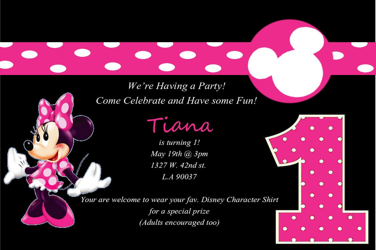 Minnie mouse 1st birthday invitations template check more at http minnie mouse 1st birthday invitations template check more at httpowninvitations201512minnie mouse 1st birthday invitations template filmwisefo
