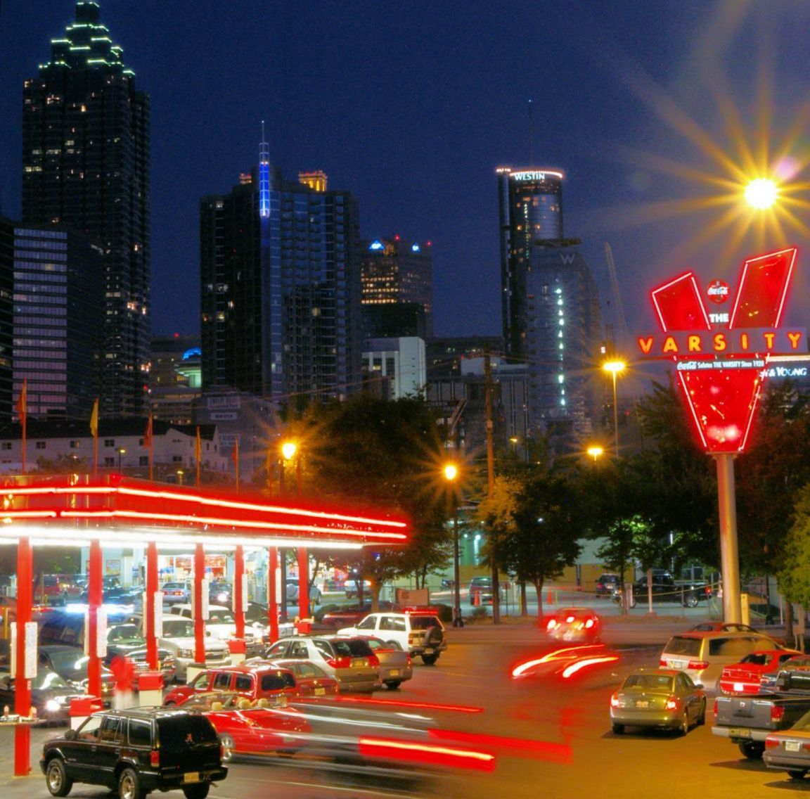 Places to visit in Atlanta during SHRM 2012  The Varsity (America's largest hot dog stand.)