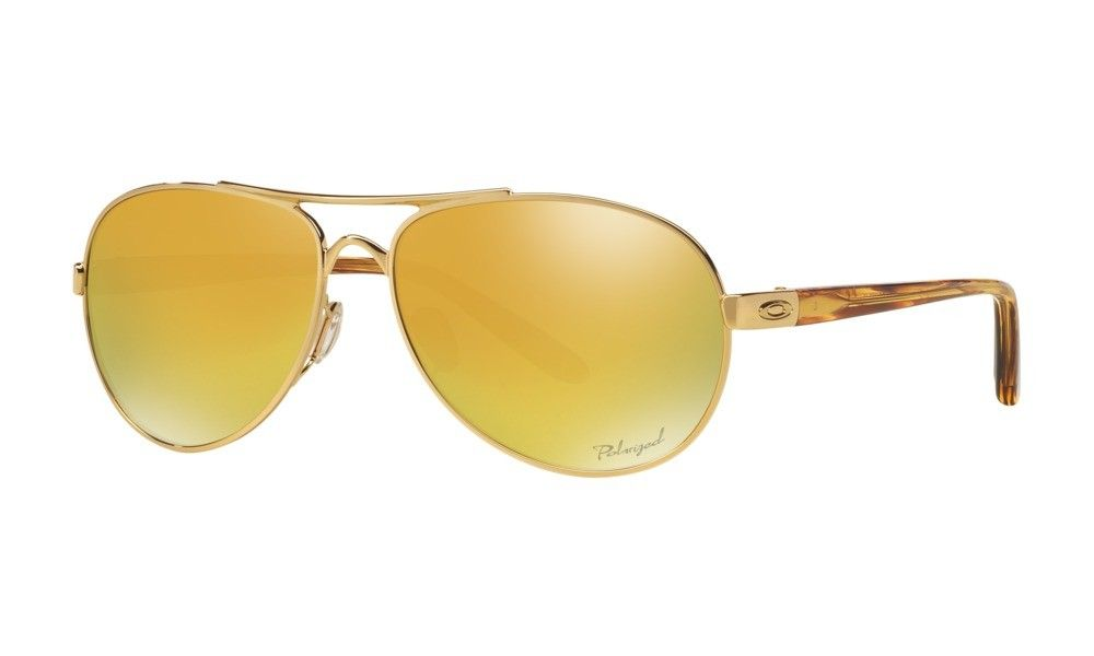 b7eb061428f Oakley Sunglasses Tie Breaker Pop Polar Collection Womens Polished Gold  Frame NO. OO4108-13