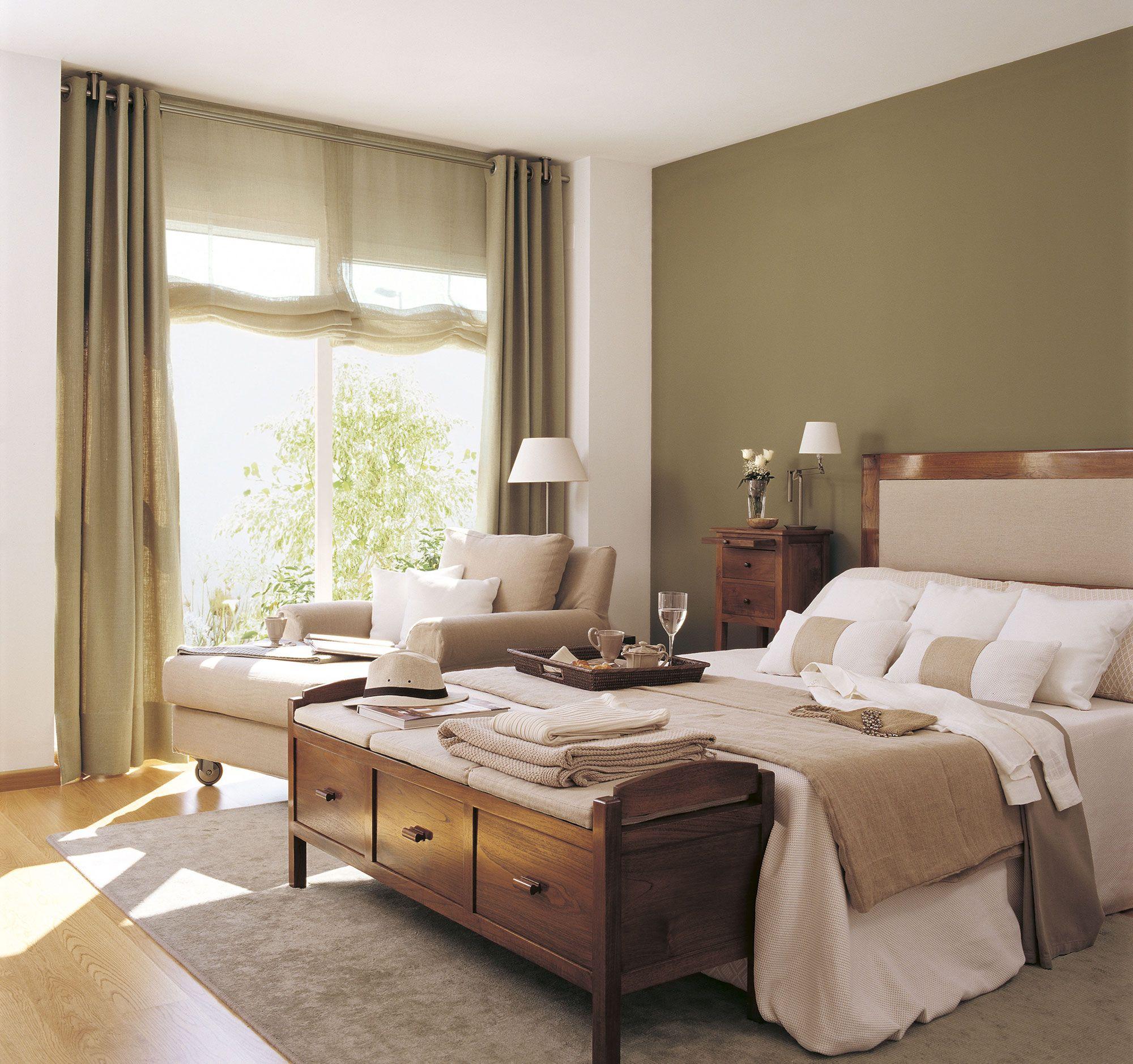 Pintura cambia tu casa con los efectos del color casa - Pintar pared dormitorio ...