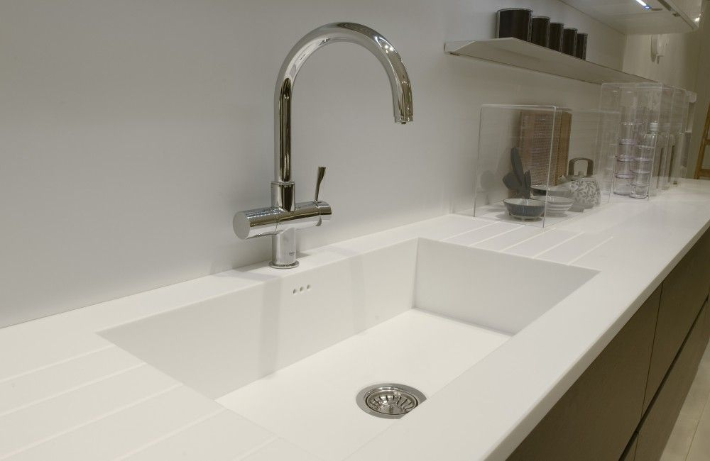Superior Staron® Benchtop With Custom Designed Integrated Sink