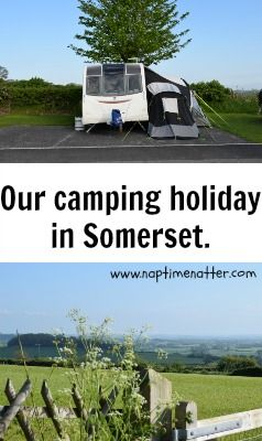 Camping in Somerset #blog #familyholiday