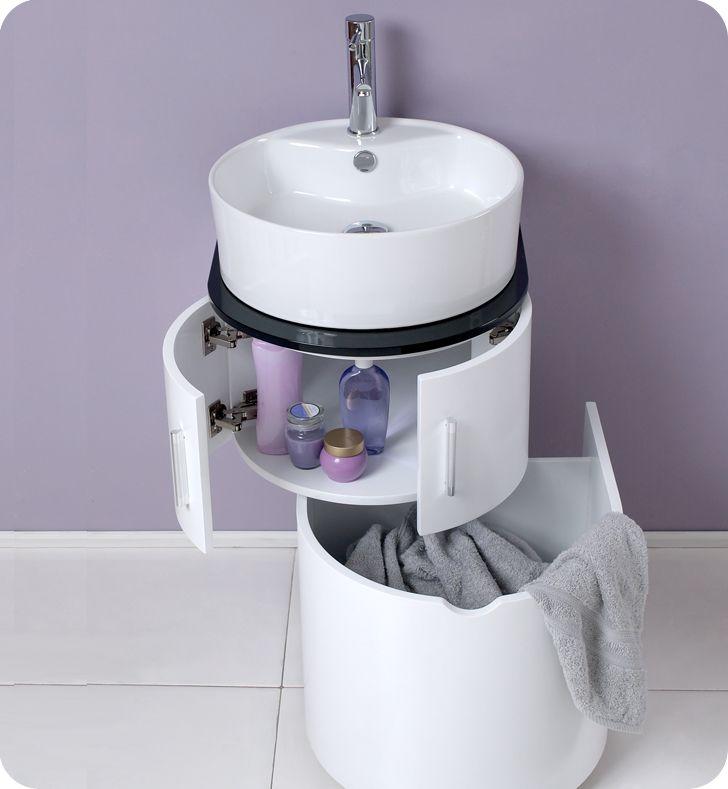 Small Bathroom Vanities With Hidden Storage Tiny Houses Small Enchanting Small Modern Bathroom Vanities